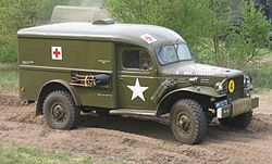 Dodge T214-WC54 ambulance
