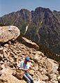 Dolina Za Mnichem, widok na gran Zabiego, lipiec 1995.jpg