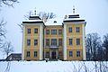 Dolina ogrodów i pałaców - Łomnica, pałac 01.JPG