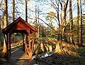 Donald E. Davis Arboretum footbridge 2011 DSCN5480.jpg