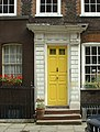 Doorway of house in Elder Street, Spitalfields, London - geograph.org.uk - 981084.jpg