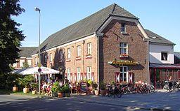 Bahnhofstraße in Rees