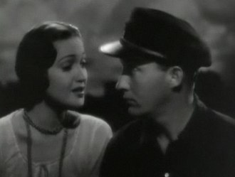 Road to Singapore - Dorothy Lamour and Bing Crosby in the trailer