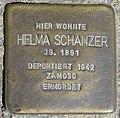 Dortmund Stolperstein Helma Schanzer.jpg