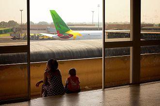 Douala International Airport - Image: Douala Airport, 2013