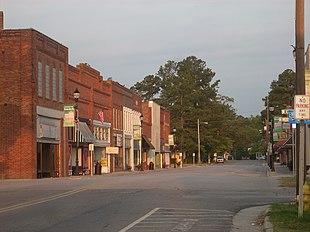 Downtown Roseboro