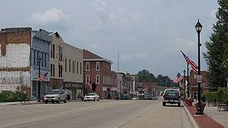 Vandalia, Illinois - Image: Downtown Vandalia IL 1