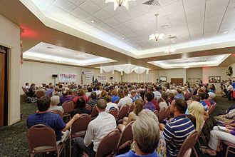 Ben Carson 2016 presidential campaign - Ben Carson in New Hampshire, 13 August 2015