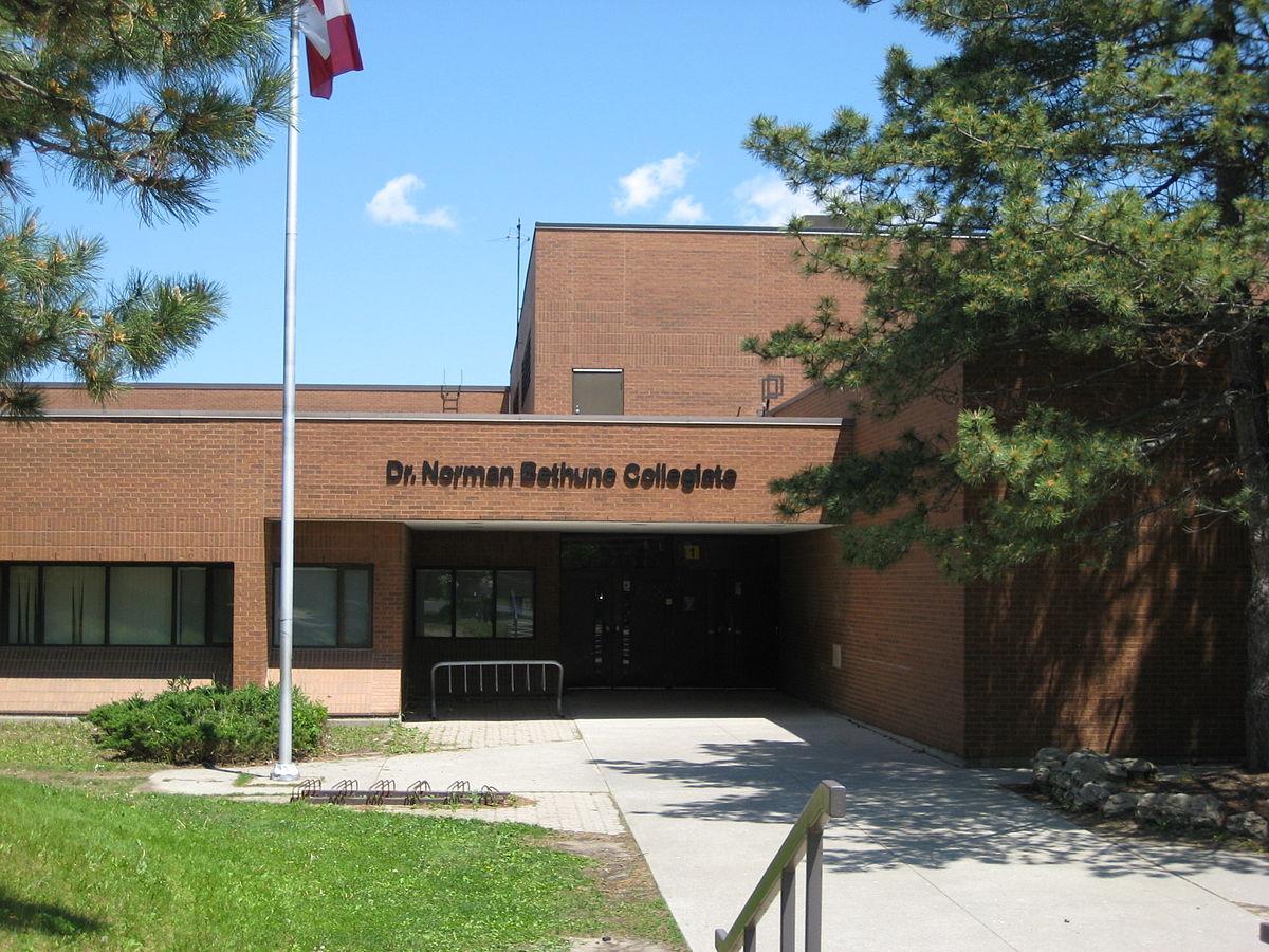 dr norman bethune collegiate institute - wikipedia