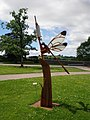Dragonfly Sculpture. - geograph.org.uk - 496086.jpg