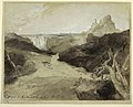 Drawing, Study for a painting- Hagar and Ishmael in the Desert., May 1894 (CH 18189931).jpg
