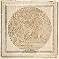 Drawing of a Roman Emperor Receiving a Petition MET DP812296.jpg