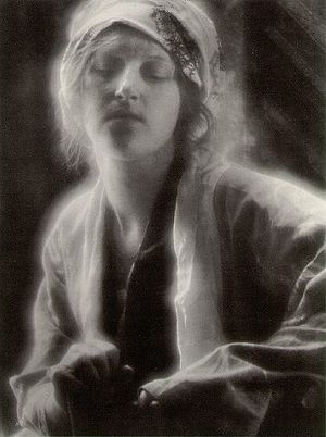 Imogen Cunningham -  Dream, a 1910 photograph by Imogen Cunningham