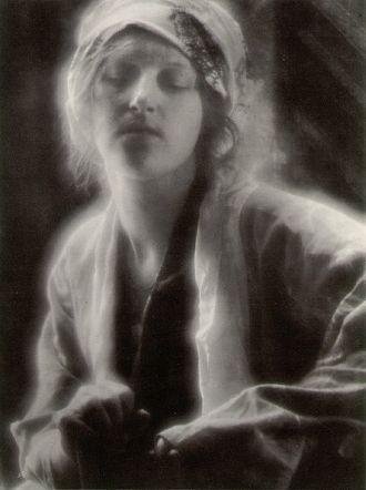 Imogen Cunningham -  Dream, a 1910 photograph by Imogen Cunningham