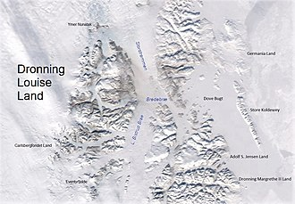 Queen Louise Land - Image: Dronning Louise Land NE Greenland