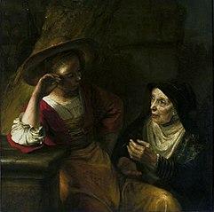Vertumnus and Pomona.