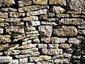 Dry Stone Wall - Blackmile Lane, Grendon, Northamptonshire.jpg