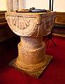 Dublin Cornmarket St. Audoen's Church North Nave Baptismal Font 2012 09 28.jpg