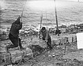 Duitse steenzetters werken op Afsluitdijk, Bestanddeelnr 905-6526.jpg