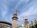 Durova 17-27 minarets construction 01.JPG