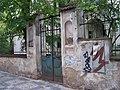Dykova 6, Dryákova vila, vstupní branka.jpg