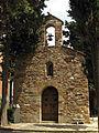 E058 Sant Cristòfol de Ca n'Anglada, façana oest.jpg