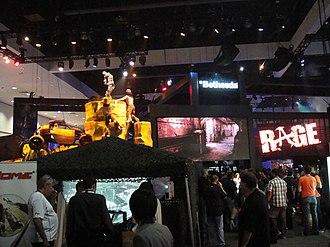 Rage (video game) - Image: E3 2011 Rage (Bethesda Softworks) (5822671650)