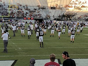 2017 UCF Knights football team - Image: ECU at UCF (37066103803)
