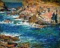 E Phillips Fox - On the Mediterranean Coast - c.1911.jpg