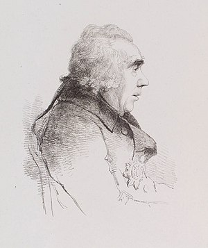 James Caulfeild, 1st Earl of Charlemont - Portrait of James Caulfeild, 1st Earl of Charlemont in Old age