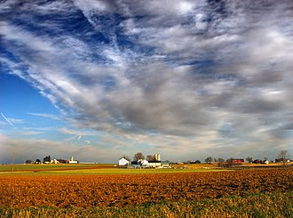 East Hempfield Township, Lancaster County, Pennsylvania - A farm in East Hempfield Township