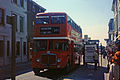 East Kent bus (AFN 776B), Hastings, route 501, 1980s.jpg