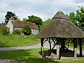 East Marden Well and Church - geograph.org.uk - 13759.jpg