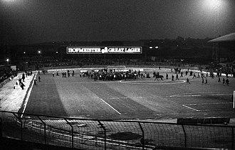 Eastville Stadium - Eastville Stadium in 1986