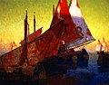 Edgar Payne Sundown, Boats at Chioggia, Italy.jpg