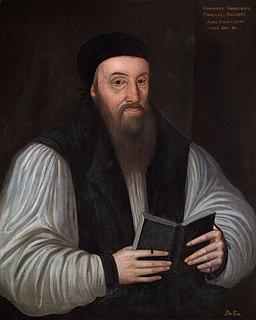 Edmund Grindal Archbishop of Canterbury