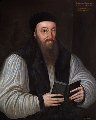 Bishop of London - Image: Edmund Grindal