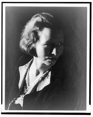 Portrait of Edna St. Vincent Millay (1933-01-14)