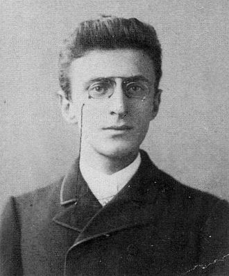 Eduard Norden - Eduard Norden as student in Berlin (1888)