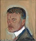 Edvard Munch - Self-Portrait with Moustache and Starched Collar (1905).jpg