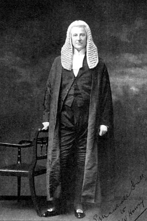 Edward Marshall Hall - Robed, c. 1900
