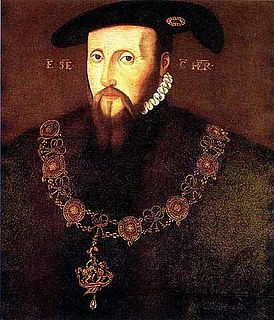 Edward Seymour, 1st Duke of Somerset Nobleman