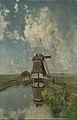Een molen aan een poldervaart, bekend als 'In de maand juli' Rijksmuseum SK-A-1505.jpeg