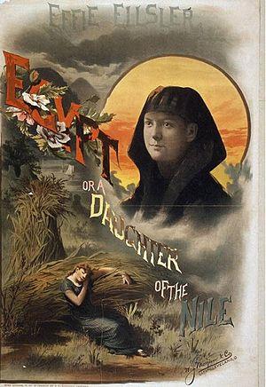 Effie Ellsler - Egypt: or a Daughter of the Nile