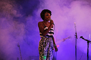 Efya - Efya performing at the 4th Annual IND!E FUSE alternative music concert