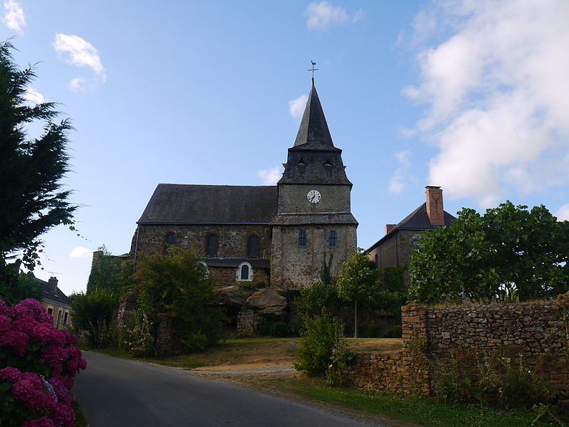 Eglise Molières côté sud