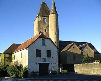 Thèze, Pyrénées-Atlantiques - Church