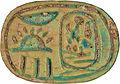 Egyptian - Scarab of Akhenaten - Walters 4271 - Bottom (2).jpg