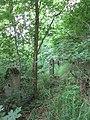 Ehemalige Gedenkstätte am Pfarrberg für die Gefallenen des I. Weltkrieges - Reste des Terassengeländers - Meinhard-Grebendorf - panoramio.jpg