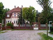 Ehemalige Reichsparteischule der KPD in Schöneiche bei Berlin